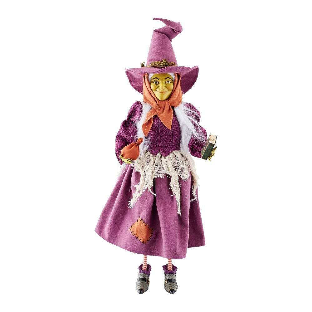 Department 56 Witches Hollow Lucy the Cat Witch 4052611